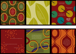Colorful Accordion-Fold Brochure