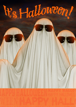 Inside: Good excuse to get sheet-faced! Cheers to a spirited Halloween.