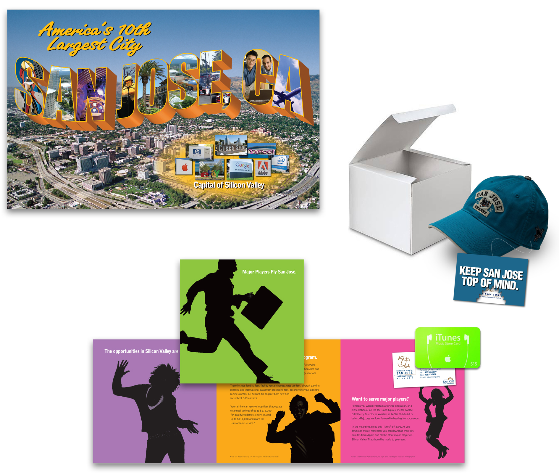 Direct Mail Promo Pieces