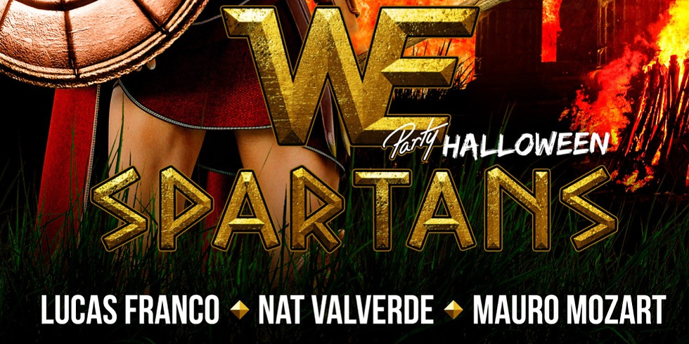 XOXO and Cecil Russell presents WE Party Spartans-Halloween Edition