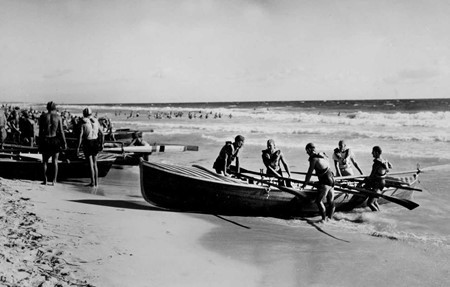 1951 Boat crew: B.Wall, T.Gallard, B.Norman, A.Pickett & A.Scott