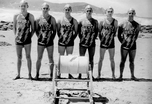 1952 Senior R&R team: D.Catt, T.Gallard, A.Scott, R.Way, E.Poole & B.Norman