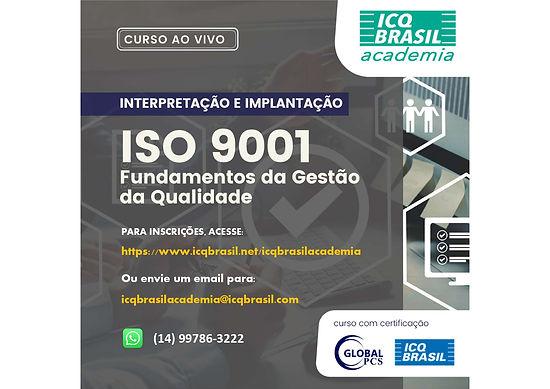 ISO 9001 - Fundamentos da Gestão da Qualidade