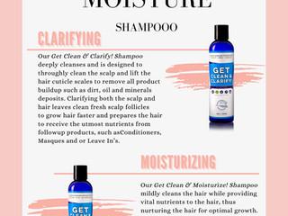 Clarify vs Moisture SHAMPOO