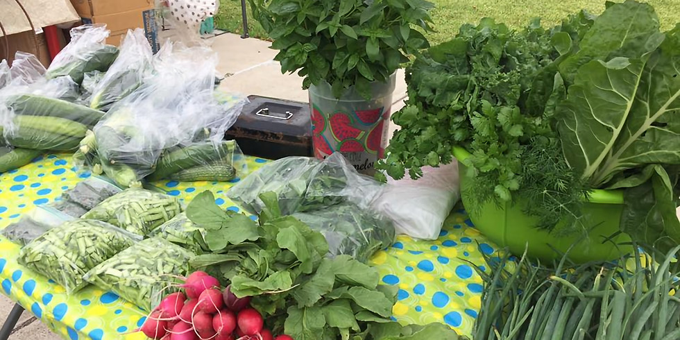 Vendor Application Due: Farmers' Market/Artisan Market
