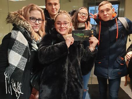 """2019 12 10 paskutinė projekto """"Žaliasis miestas"""" veikla – orientacinės varžybos!"""