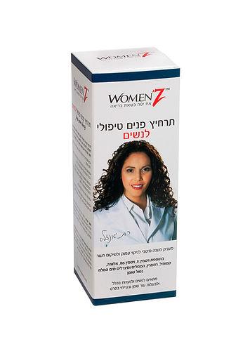 תרחיץ פנים טיפולי לנשים