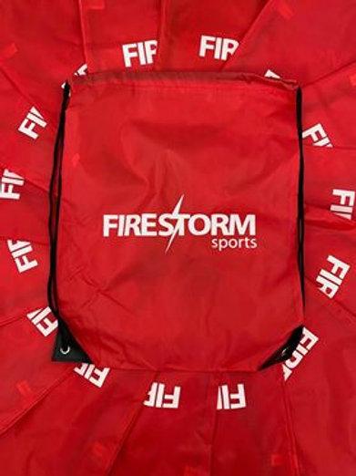 Red Drawstring Kit Bag