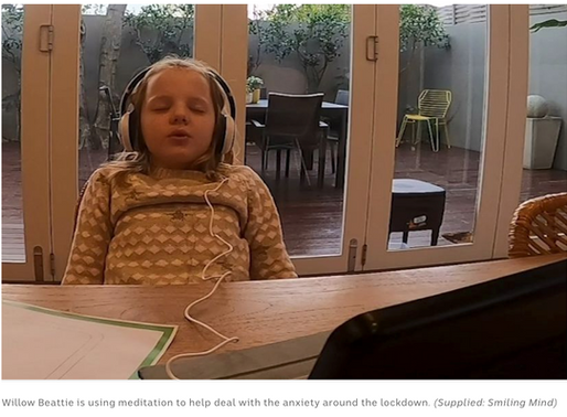 Coronavirus anxiety in kids leads to big surge in interest in mindfulness app