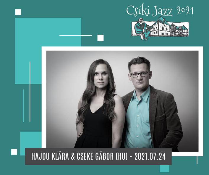 HAJDU KLÁRA & CSEKE GÁBOR (HU) - 24.07.2021