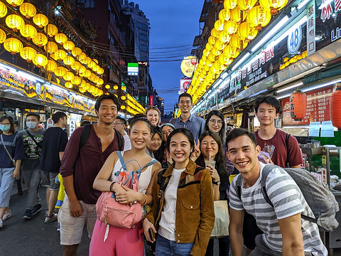 Students in Keelung Night Market.jpg