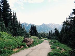 Trajeto da montanha
