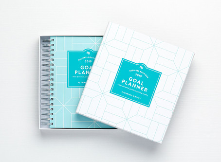 My GOAL Planner for 2019!