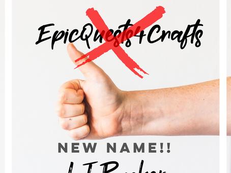 Website/Name Change!
