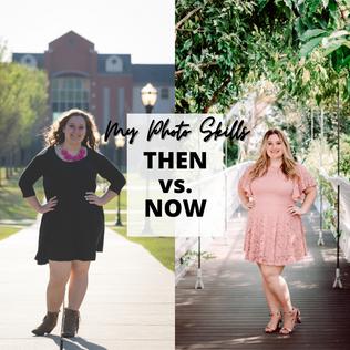 Senior Pics: Then vs. Now