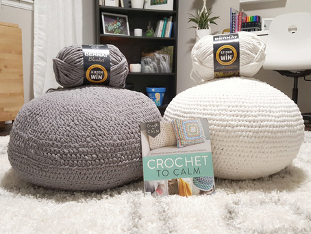 DIY Floor Poufs on a budget!