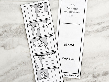 Freebie - Printable BOOK Bookmark