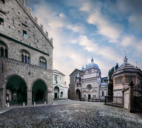 Palazzo della Ragione - Duomo - Basilica di Santa Maria Maggiore - Cappella Colleoni - Battistero