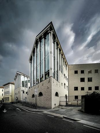 Via Borfuro - Il Tribunale