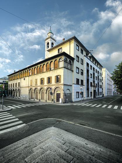Via Antonio Locatelli - Via Zelasco - Casa San Marco, antico ospedale