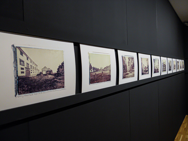 Sala Manzù Polaroid Transfer