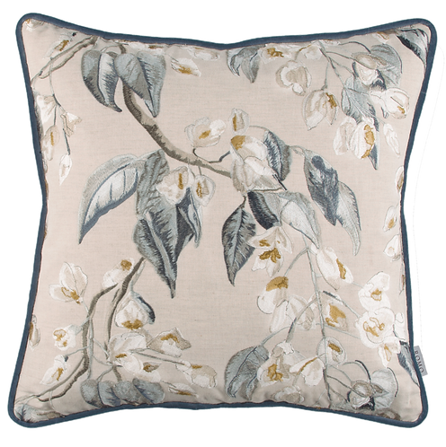 Romo Wisteria Embroidery 50cm x 50cm Cushion