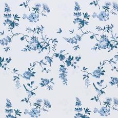 Cath Kidston Birds & Roses Blue