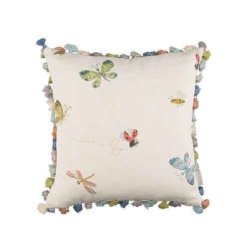 Villa Nova Buzzing Around Cushion