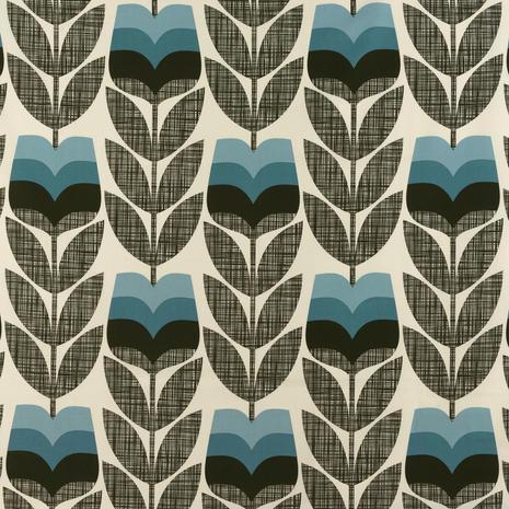 Orla Kiely Rosebud Powder Blue