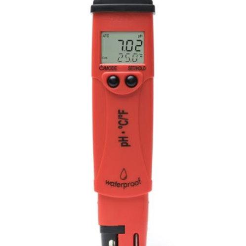 Augstas izšķirtspējas pH un temperatūras testeris pHep®5 Hanna HI98128