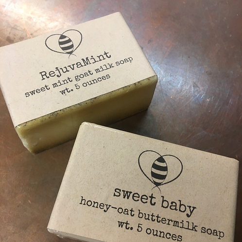 Locally Crafted Soap - Rejuvamint