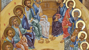 Our new icon of Pentecost
