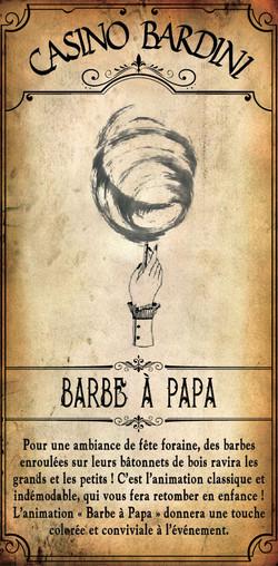 BARBE A PAPA
