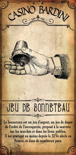 JEU DE BONNETEAU