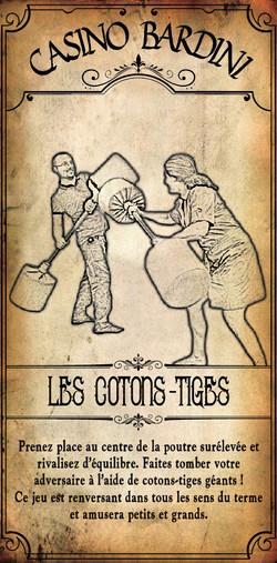 LES COTONS-TIGES