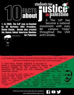 SJP Fact Sheet