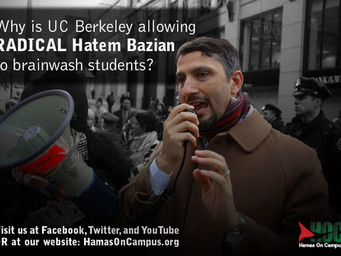 Why is UC Berkeley allowing RADICAL Hatem Bazian to brainwash students?