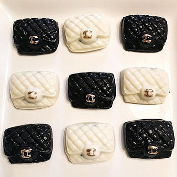 chanel bag chocolate covered oreos