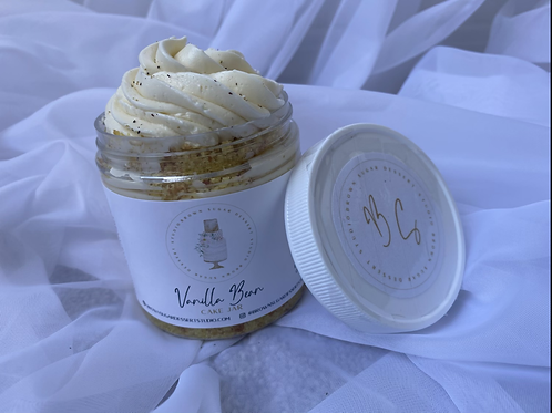 Vanilla Bean Cake  Jar