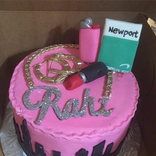 NYC favorite things birthday cake