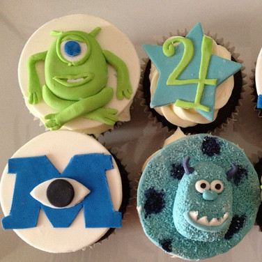 Monster's Inc cupcakes