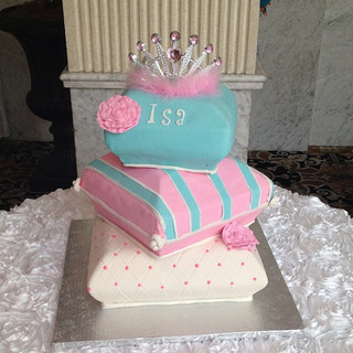 Tiered Pillow cake