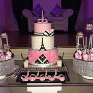 paris and chanel themed baby shower