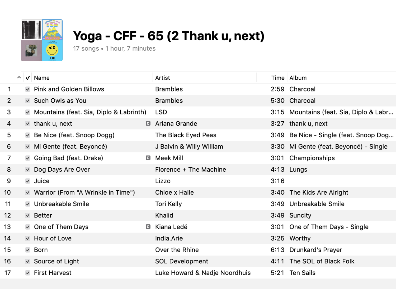 2-yoga-mixed-levels-playlist-2019