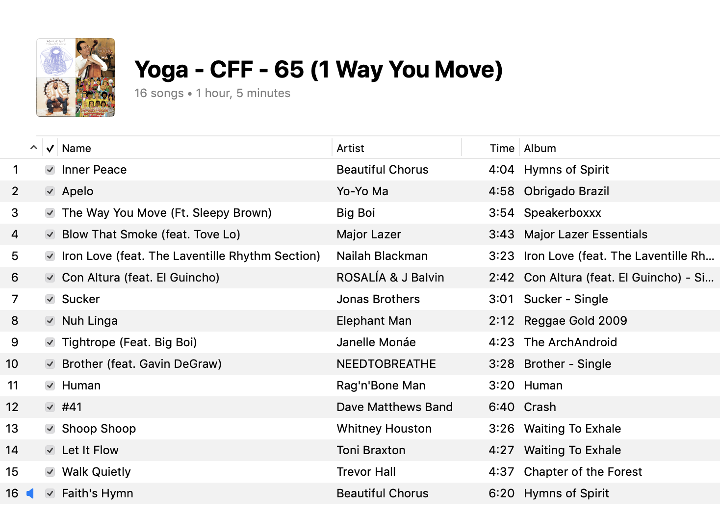 1-yoga-mixed-levels-playlist-2019
