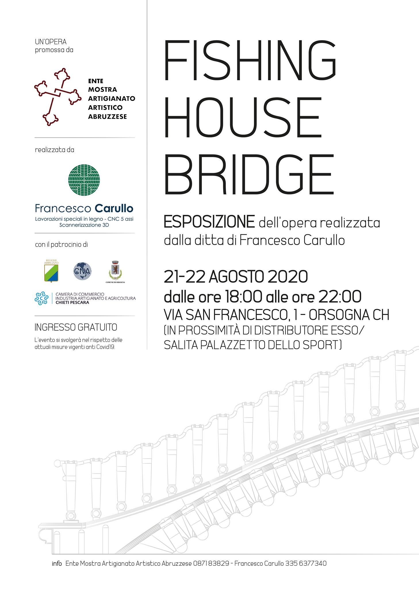 Presentazione ponte in legno Francesco C