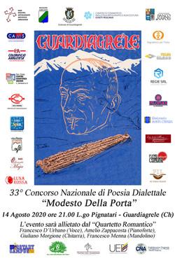 33esimo concorso di poesia dialettale mo