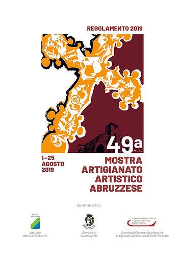 copertina 49a MOSTRA ARTIGIANATO ARTISTI