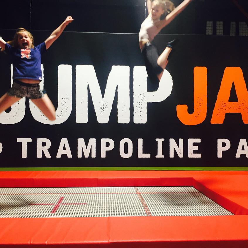 Girls Jump Jump Jam Bridgend