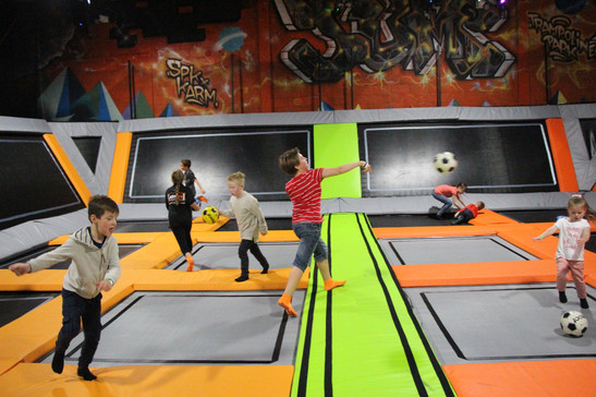 Dodgeball Sam Payne Jump Jam Bridgend .j